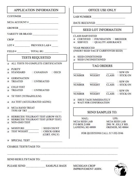 lab order sheet